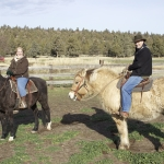 Guests on Trail Ride