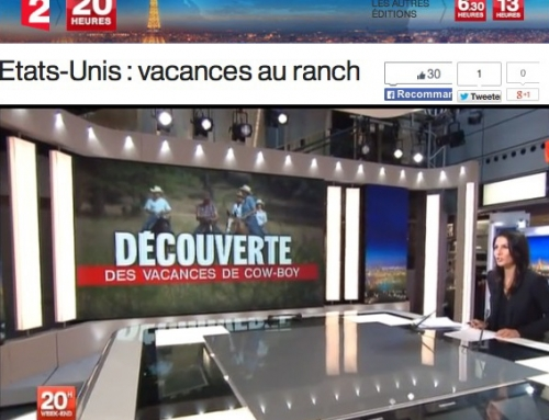 News Flash!!! Long Hollow Ranch Featured on French TV
