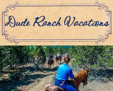 Oregon Dude Ranch Vacations