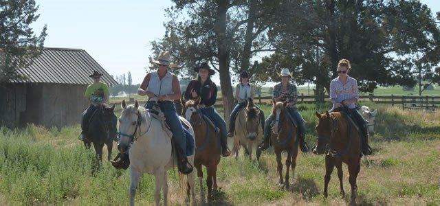 Long Hollow Ranch Horseback Riding - Basic Horsemanship Lessons