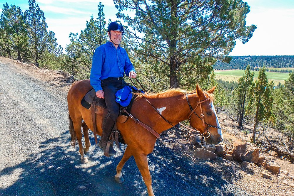 Guests In Action - LHRANCH Dude Ranch Vacations Horseback riding