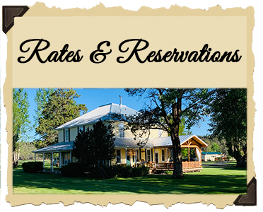 Oregon Guest Ranch Vacations & B&B Sisters & Redmond Oregon Rates and Resrvations