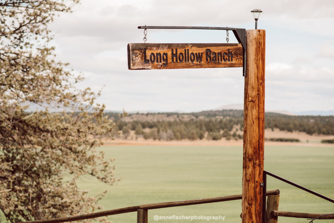 Long Hollow Ranch Sign